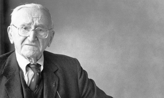 The economist Friedrich A. Hayek (1899–1992).