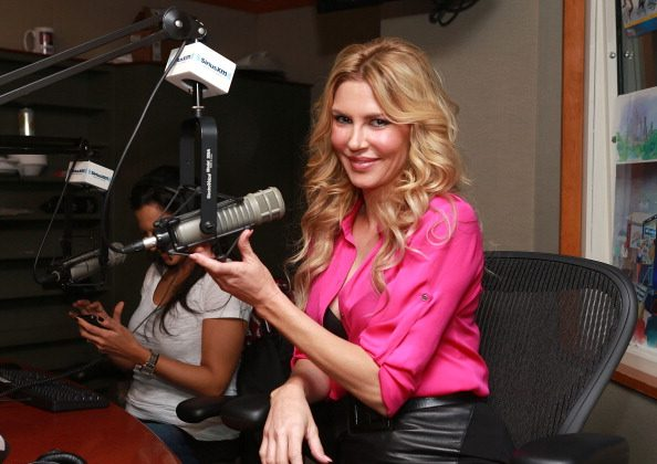 Brandi Glanville visits SiriusXM Studios on November 11, 2013 in New York City. (Photo by Robin Marchant/Getty Images)