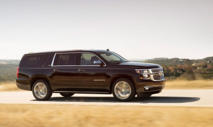 Workhorse and Beauty - the 2015 Chevrolet Suburban is stacked with added features. (Chevrolet)