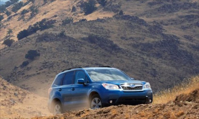This year's version of the Subaru Forester shows some improvements in many areas, the most notable one being the increased milage. (Subaru)
