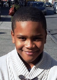 Zhaundu Bradley, 9-year-old boy who went missing Tuesday in East Harlem. (Photo courtesy of NYPD)