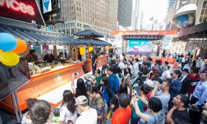 Taste Asia Takes Over Times Square