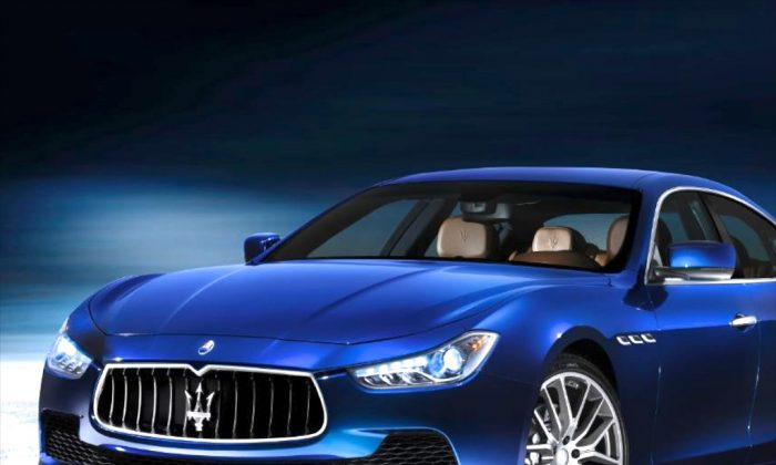 Want Ferrari-power for the price of an Audi? For the first time, with the Maserati Ghibli, the Italians created a family-car that costs less than $100k. (Maserati)