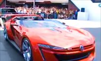 Gran Turismo 6 Becomes Reality: World Premiere of Volkswagen GTI Roadster (+Video)