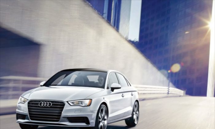 Audi's new 2015 A3 Sedan will replace the old A4 in size and specifications. Yet when it comes to the built-in high tech, the A3 overtakes the bigger models in the palette of the German car manufacturer. (Audi)