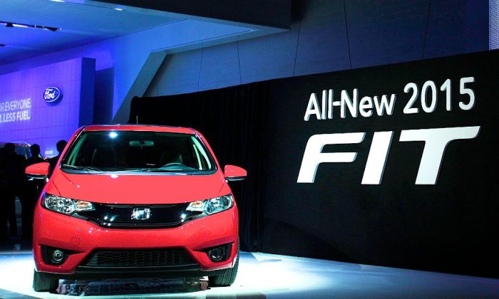 The new Honda FIT 2015 starts moderately priced at $15,500. (Bill Pugliano/Getty Images)