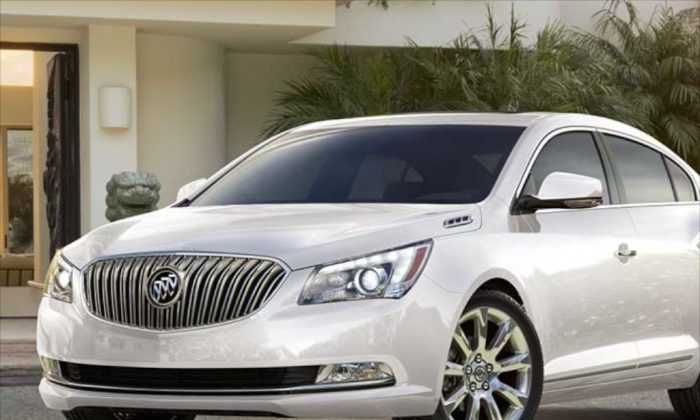 Spacious and comfortable to ride, the 2014 Buick LaCrosse is a giant car with small fuel consumption. (Buick)