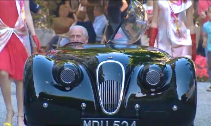 At this year's Concorso d'Eleganza at Villa d'Este in Lake Como, Italy, this Jaguar XK 120 was the top star. (AOL)