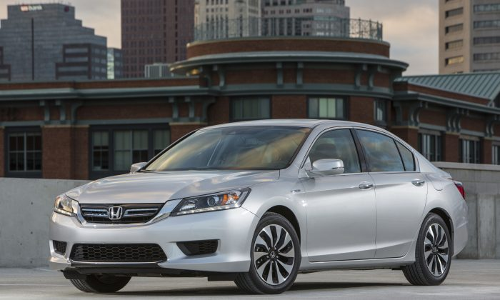 2014 Honda Accord Hybrid (Courtesy of Honda)