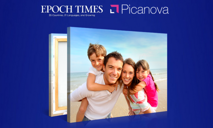 Epoch Times and Picanova Partner for US-wide Canvas Print Giveaway