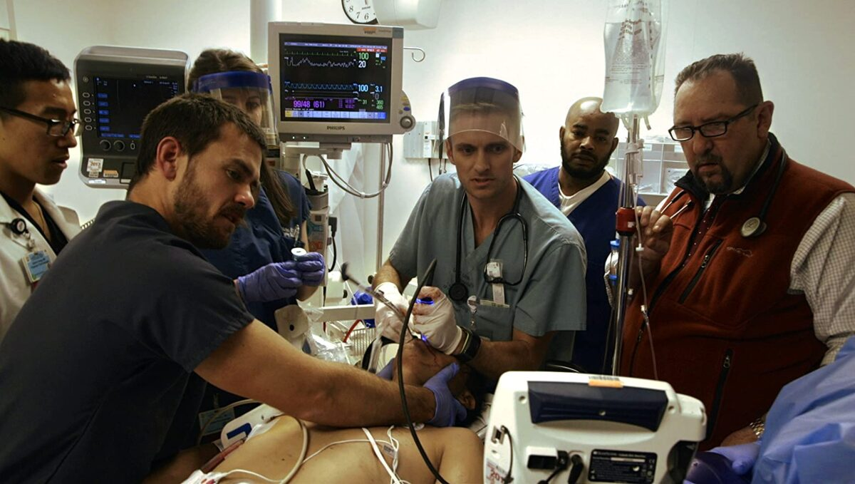 "Doctors in the ER in ""Code Black"""