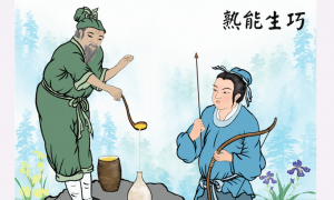 Chinese Idioms: Skill Comes From Practice (熟能生巧)
