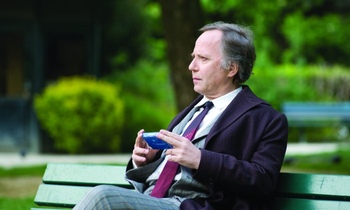 "Fabrice Luchini is a sympathetic figure as a privileged middle-aged man in ""The Women on the 6th Floor."" (Strand Releasing)"