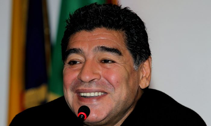 Diego Maradona. (Paolo Bruno/Getty Images)