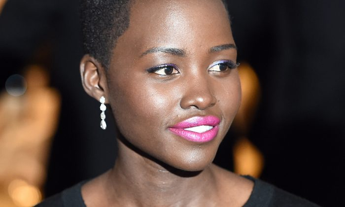 Oscar winning actress Lupita Nyong'o attends the White House Correspondents Association Dinner on May 3, 2014 in Washington, DC. She's been confirmed as part of the Star Wars Episode 7 cast. (AFP/Getty Images)