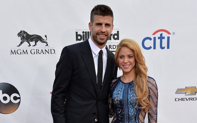 Singer Shakira (R) and soccer player Gerard Pique attend the 2014 Billboard Music Awards at the MGM Grand Garden Arena on May 18, 2014 in Las Vegas, Nevada. (Frazer Harrison/Getty Images)