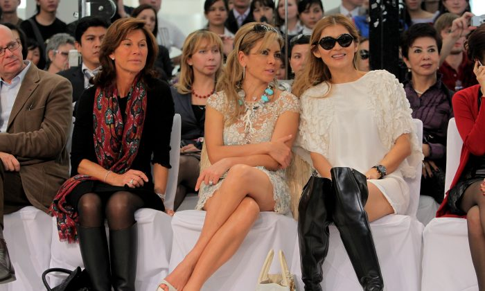 Sylvie Rousseau, left, in a file photo. She died this week in Mexico. (Getty Images)