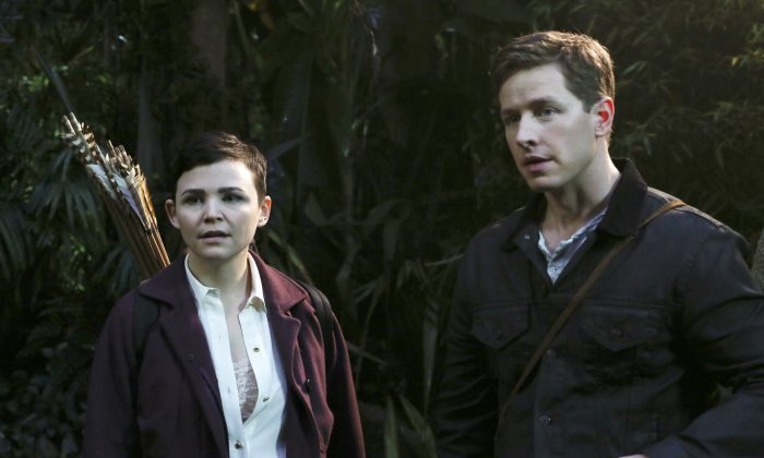 Ginnifer Goodwin and Josh Dallas in Once Upon a Time. (ABC/Jack Rowand)