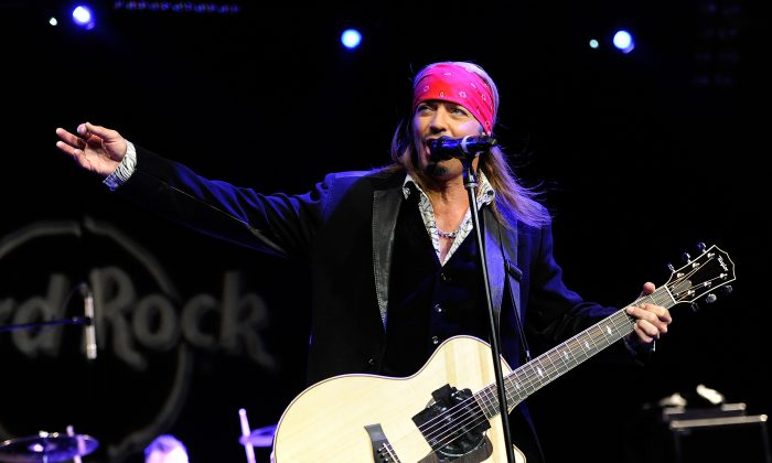 Bret Michaels in a file photo. (Evan Agostini/Invision for Hard Rock International/AP Images)