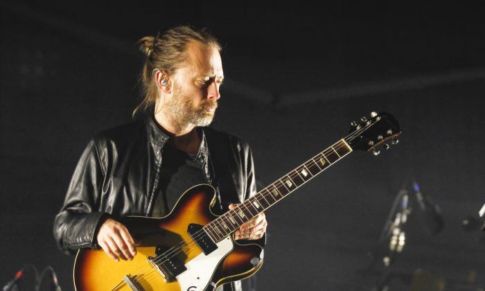 Thom Yorke of Radiohead pulled his solo releases from Spotify in 2013, arguing that digital streaming is destroying the livelihood of artists. (Photo by Jack Plunkett/Invision/AP)