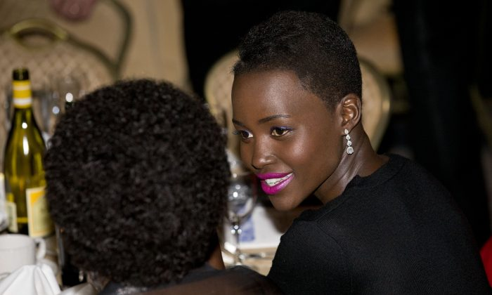 Lupita Nyong'o will reportedly be one of the villains in Star Wars Episode VII, as other speculation about the trailer release date has emerged. (AP Photo/Jacquelyn Martin)