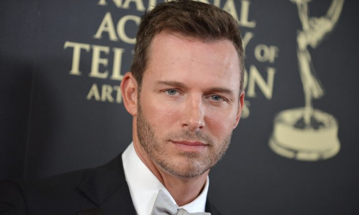 Eric Martsolf arrives at the 41st annual Daytime Emmy Awards at the Beverly Hilton Hotel on Sunday, June 22, 2014, in Beverly Hills, Calif. (Photo by Richard Shotwell/Invision/AP)