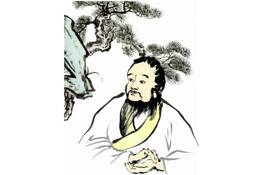 Bian Que, considered a deity doctor with clairvoyance, established medical protocols that are still in use in Chinese medicine today. (Jessica Chang/Epoch Times)
