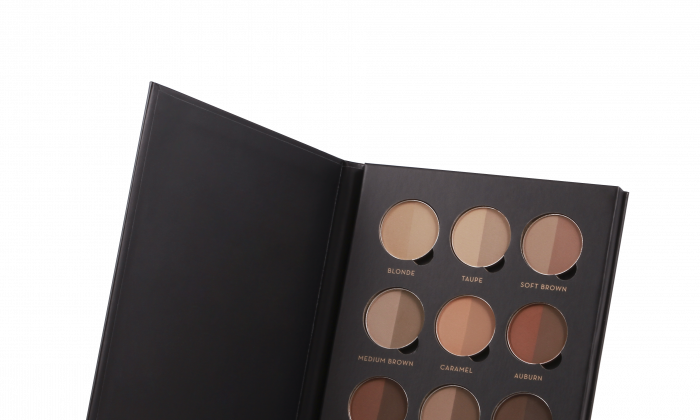 ANASTASIA BROW PRO PALETTE gives a multitude of brow color options for perfect results. $88, anastasia.net.