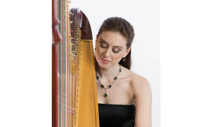 Harpist Caroline Cole has been awarded the Virginia Parker Prize by the Canada Council for the Arts for outstanding talent and musicianship. (Canada Council for the Arts)