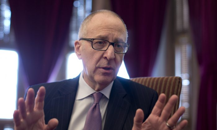 Cornell University President Dr. David Skorton on March 10, 2014. (AP Photo/Carolyn Kaster)