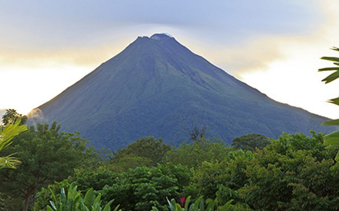 Arenal volcano in Costa Rica (A Luxury Travel Blog)