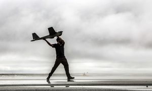 First Drones Fly Over Alaska