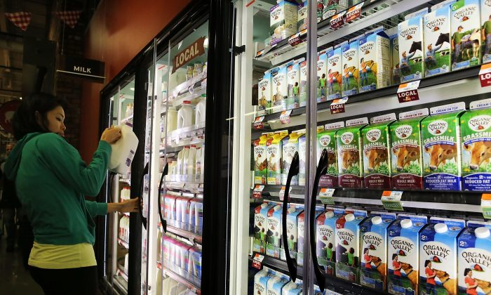 Groceries are displayed on shelves in a Brooklyn supermarket on June 9, 2014 in New York City. Small businesses should focus their marketing and promotions on segments making purchase decisions. (Photo by Spencer Platt/Getty Images)