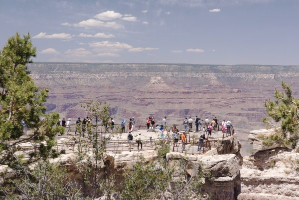 Grand Canyon is destination point for tourists as it is one of the Seven Natural Wonders of the World. Photo taken on June 6, 2014. (Cat Rooney/Epoch Times)