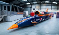 Meet Bloodhound SSC, the Supersonic Car Faster Than a Speeding Bullet