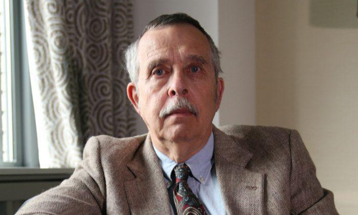 Edwin Vieira Jr. in New York, May 22. (Seth Hirsch/Epoch Times)