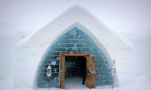 Visit Canada's Magical Ice Hotel