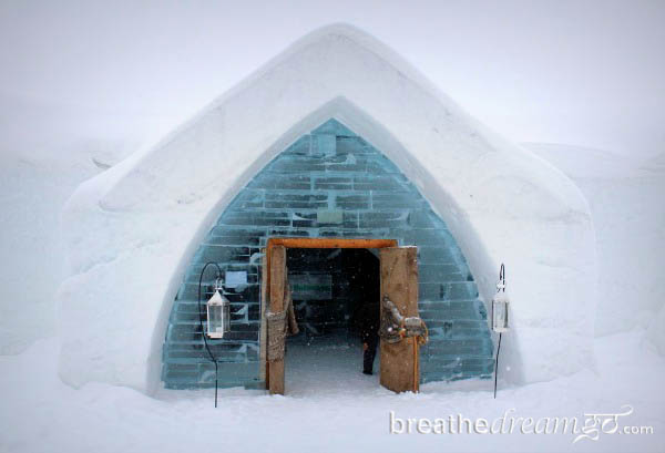 Ice Hotel in Quebec, Canada