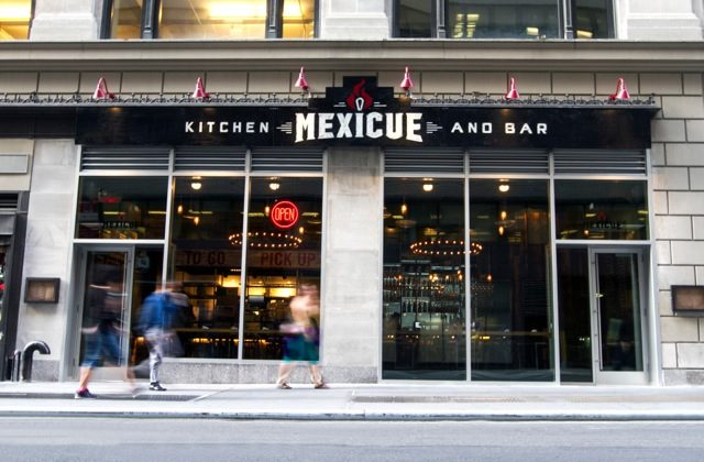 Mexicue's new location in Times Square. (Courtesy of Mexicue)