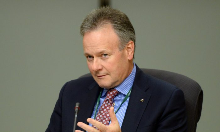 Bank of Canada governor Stephen Poloz is shown at a senate committee meeting in Ottawa on April 30, 2014. Many economists view the central bank as holding rates unchanged for at least another year. (The Canadian Press/Sean Kilpatrick)