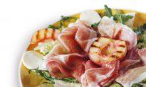 Recipe: Prosciutto Amatriciano With Arugula and White Peaches