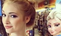 'Frozen' Elsa Lookalike Goes Viral (Video)