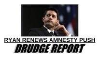 Drudge Report Shows Effort by Paul Ryan, Mario Diaz-Balart to Pass Immigration Bill