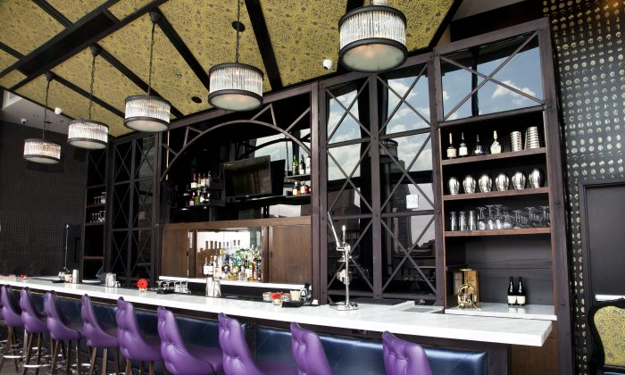 Spyglass, a rooftop bar at the Archer Hotel. (Courtesy of David Burke Group)