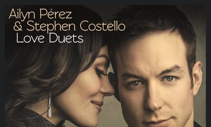 Husband and Wife Rising Opera Stars Stephen Costello and Ailyn Pérez Release an album of love duets