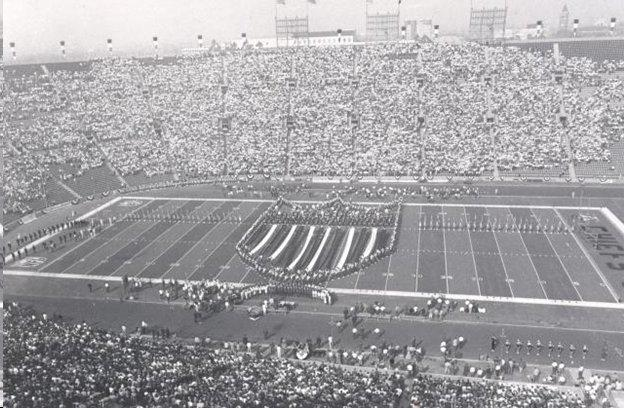 The first Super Bowl was played at the Memorial Coliseum in Los Angeles. (Photo provided by author)