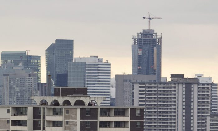 Condos in Toronto are commonly bought and rented out as part of a popular real estate investment strategy. (The Canadian Press/Pawel Dwulit)