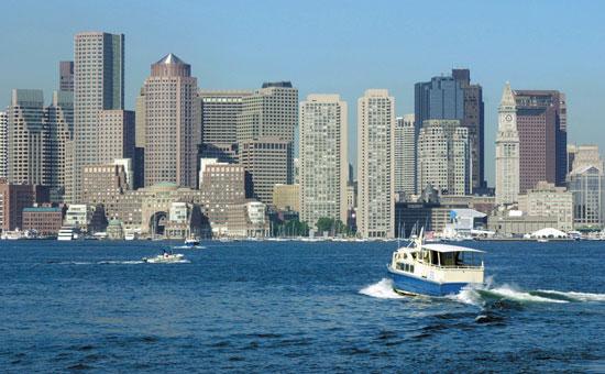 Boats skim along the Charles River in Boston. Photo courtesy Greater Boston CVB (Go World Travel)