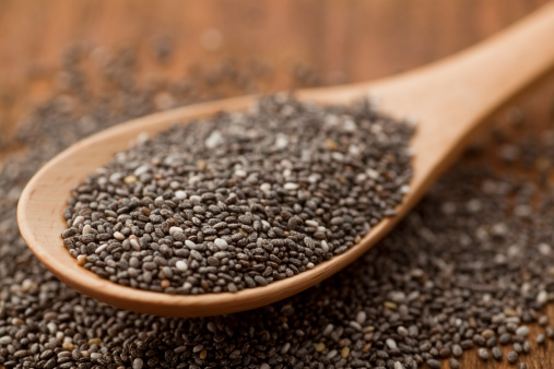Chia seeds were eaten by native peoples in North and Central America. (amanda kerr/Thinkstock)