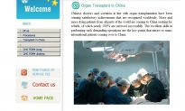 Transplant Tourism Website in China Taken Offline